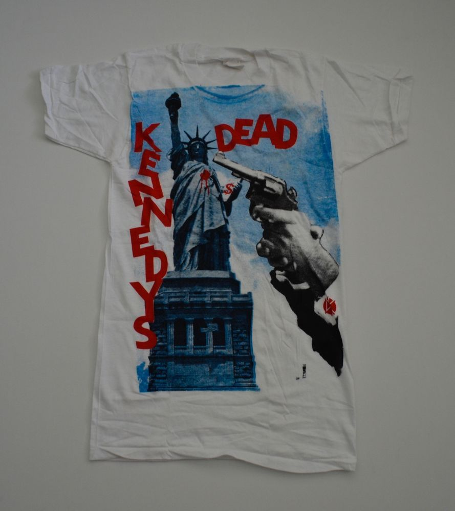 a8aac1de VINTAGE EXTREMELY RARE! DEADSTOCK 1980s FIFTH COLUMN DEAD KENNEDYS PUNK T- SHIRT #screenStars