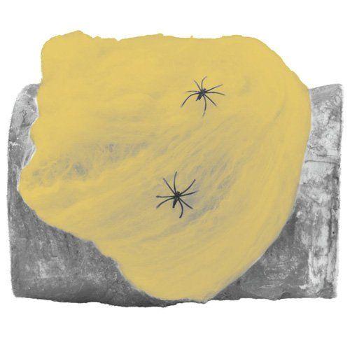 Europalms Halloween 83314011 Spinnennetz 20 g UV-aktiv, orange