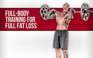 4week fullbody burn  full body training body training