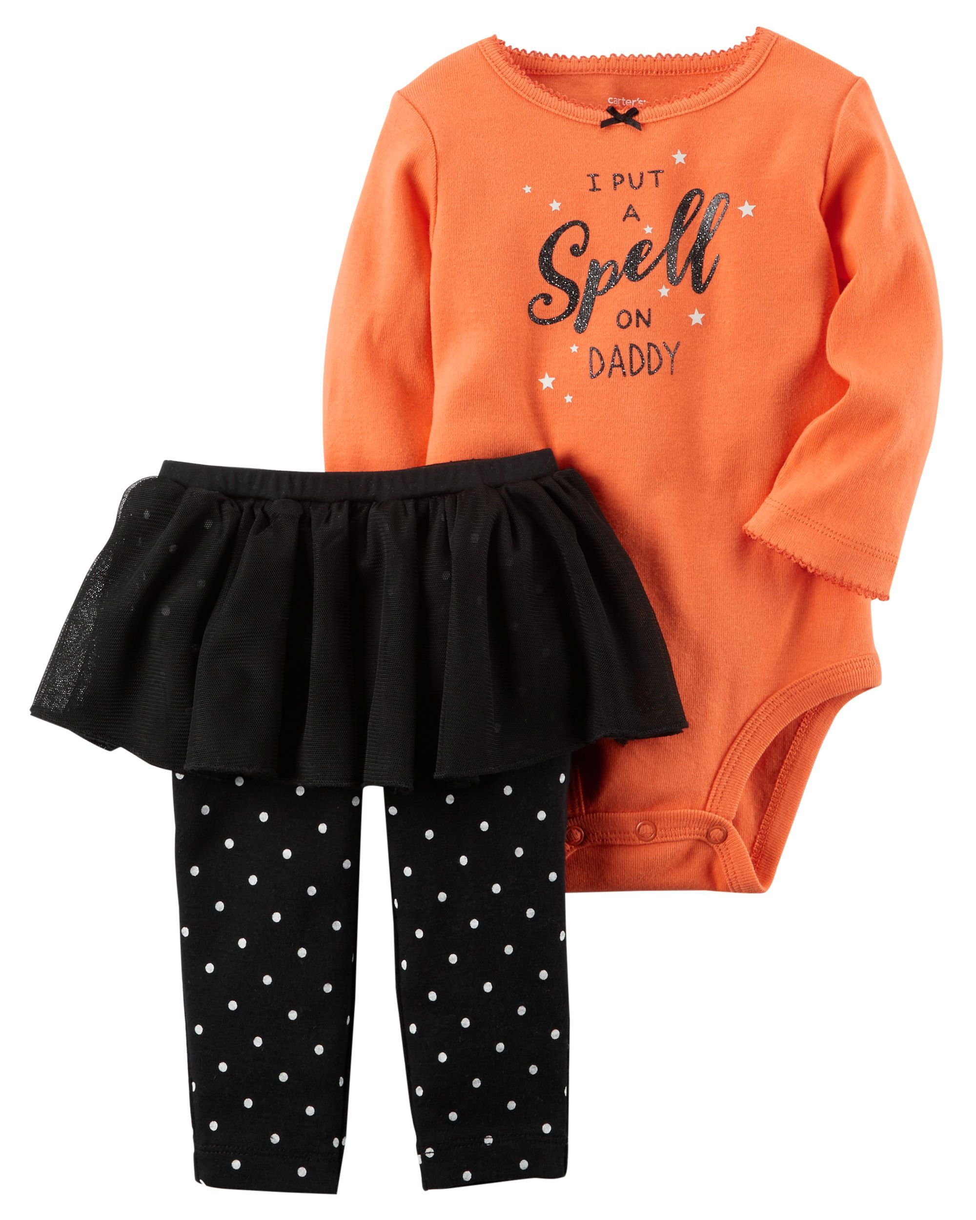 4c8382a19 2-Piece Bodysuit & Tutu Pant Set | Baby | Baby halloween outfits ...