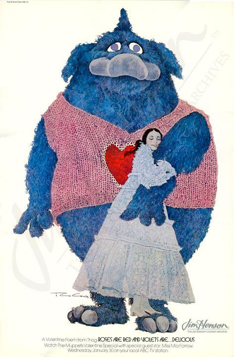 Muppets Valentine's Day Card