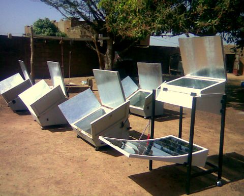 how to make a solar oven with alfoil