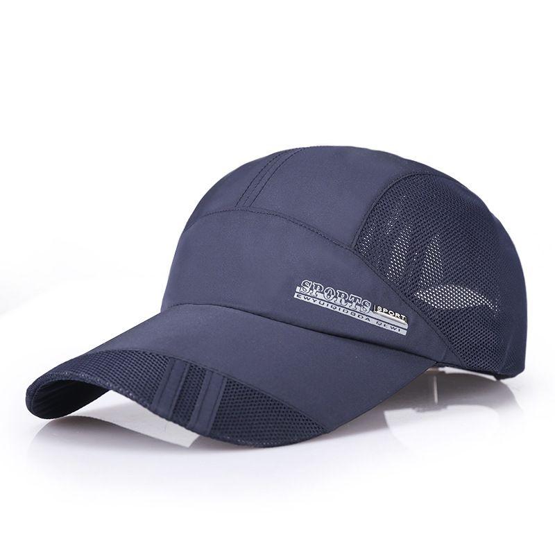 48da167be34 Buy men women Golf ball cap breathable Adjustable size male outdoor sport  running hat sun-