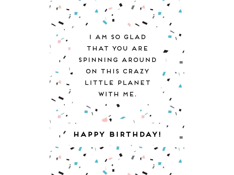 Fun Printable Birthday Card With Sweet Saying Card For Etsy Birthday Cards To Print Birthday Card Printable Happy Birthday Quotes For Friends