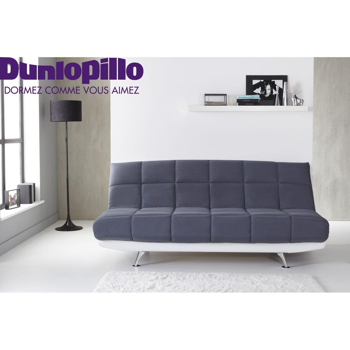 Banquette Lit Clic Clac Cocoon Matelas Dunlopillo Mousse A Memoire Taille 3 Places Furniture Couch Futon
