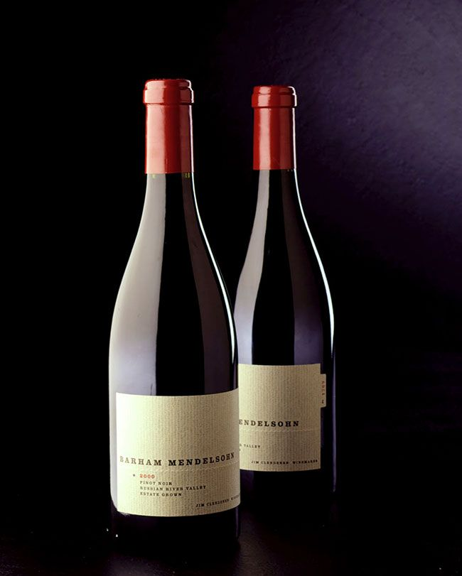 Barham Mendelsohn Wine Label Branding Identity Logo Packaging Winelabel Letterpress