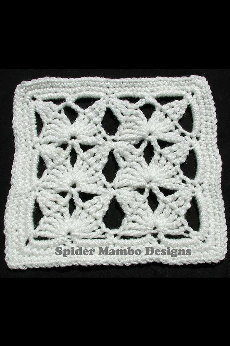 Cheery Butterfly Fields Square Crochet Pattern | Moms crochet stuff ...