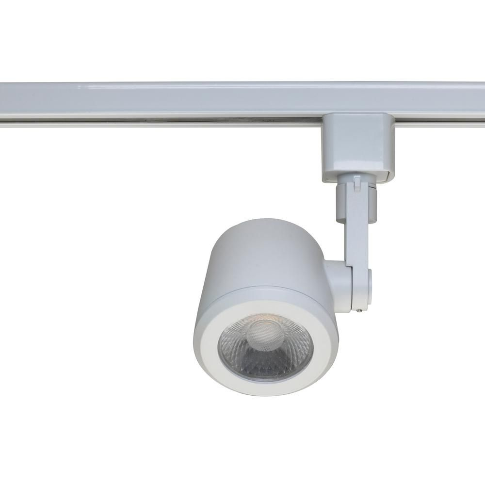 Filament Design White Integrated Led Track Lighting Head