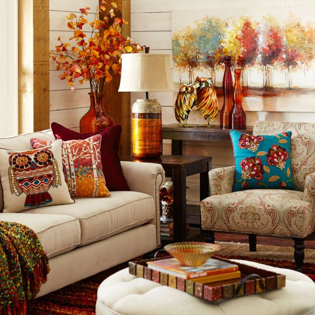 I like the throw  lamp  and end table actually the whole room  Bohemian LivingPier  1  i like the throw  lamp  and end table actually the whole room is  . Pier One Living Room Decor. Home Design Ideas