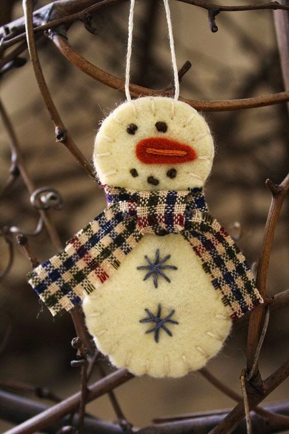 snowman Could make this with warm and