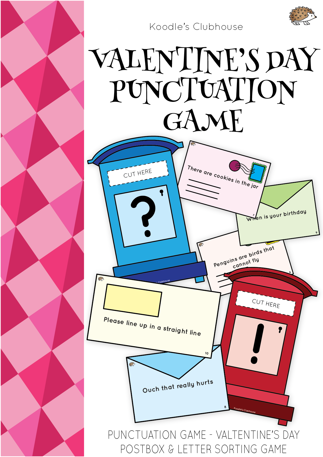 Valentine S Day Postbox Punctuation Game