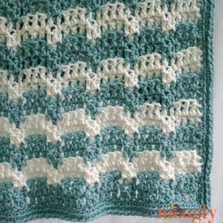 Snowdrifts Afghan: free crochet pattern on Mooglyblog.com   knit ...