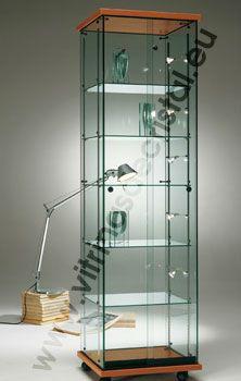 Vitrina de cristal google search casa mia pinterest for Muebles oficina cristal