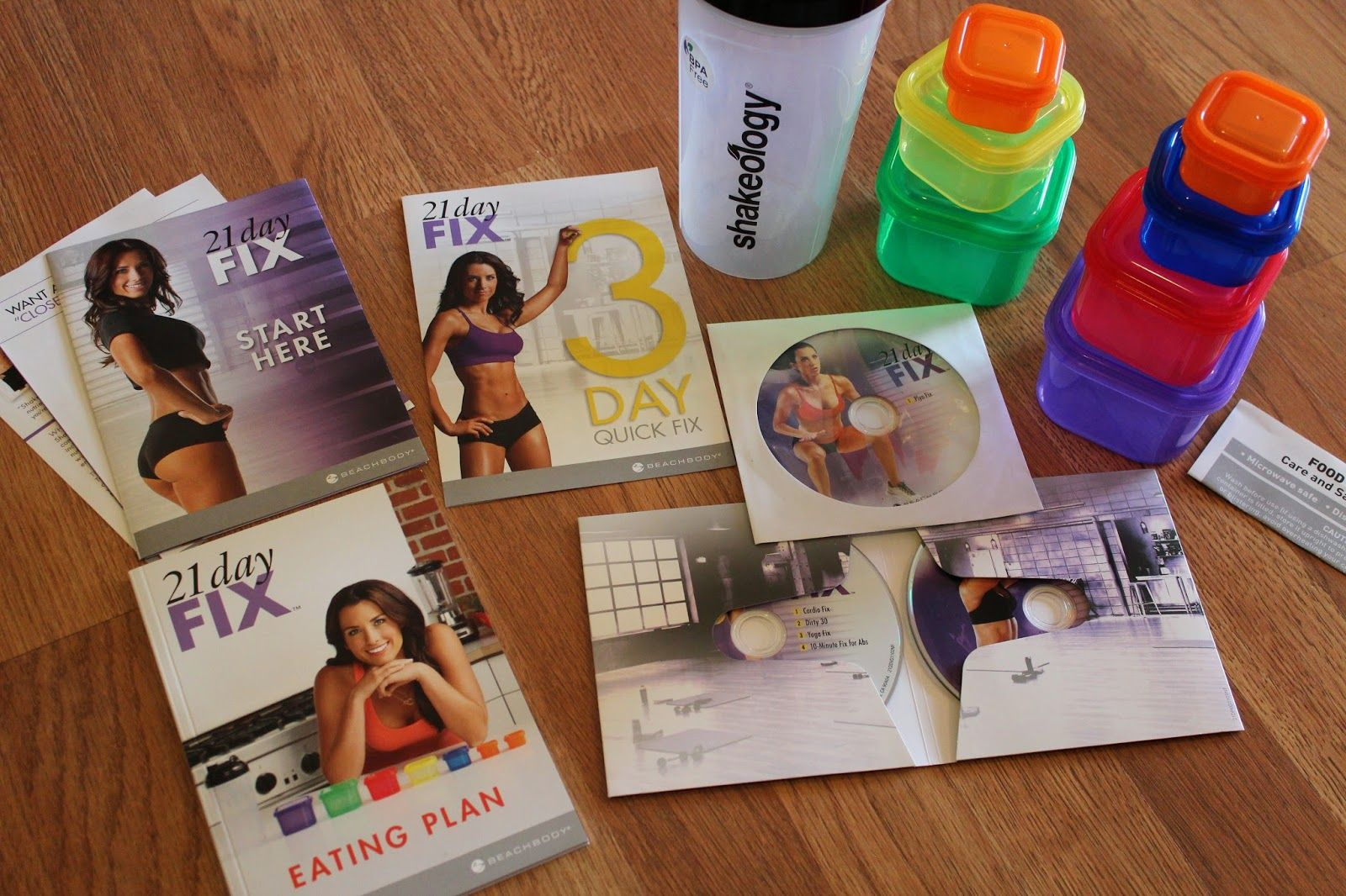 What comes with Beachbody's 21 Day Fix