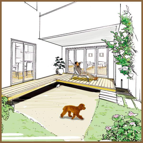 ダイワハウス 注文住宅 ペットと一緒の暮らし ペット 犬と暮らす家 犬の部屋