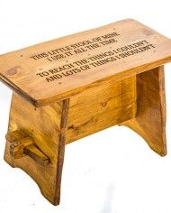 Fantastic This Little Stool Of Mine Poem Children Wooden Personalised Machost Co Dining Chair Design Ideas Machostcouk