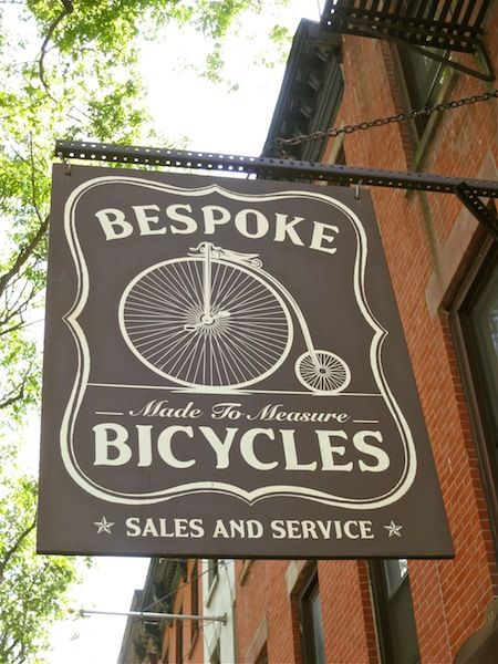 Intimidatingly hip neighborhood bike shop. Ask for Cassidy, Bespoke's owner and benevolent despot. He finds few things as enjoyable as getting his hands dirty and making things work. He is tickled by the insouciance of wearing a dress shirt while doing so.