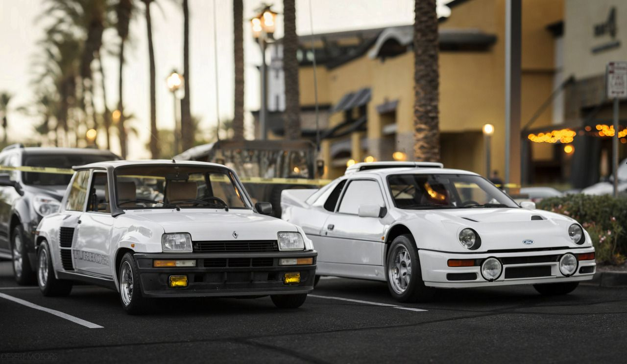 Itcars Renault 5 Turbo 2 Ford Rs200 Image By Desert Motors