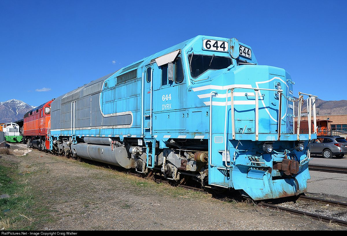 RailPictures.Net Photo: DYRX 644 Dynamic Rail Preservation EMD SDP40F at Ogden, Utah by Craig Walker