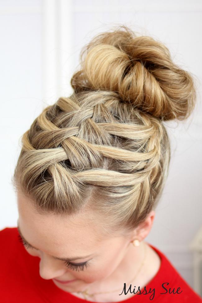 Flechtfrisur Frisuren Pinterest Flechtfrisuren Frisur Und Haar