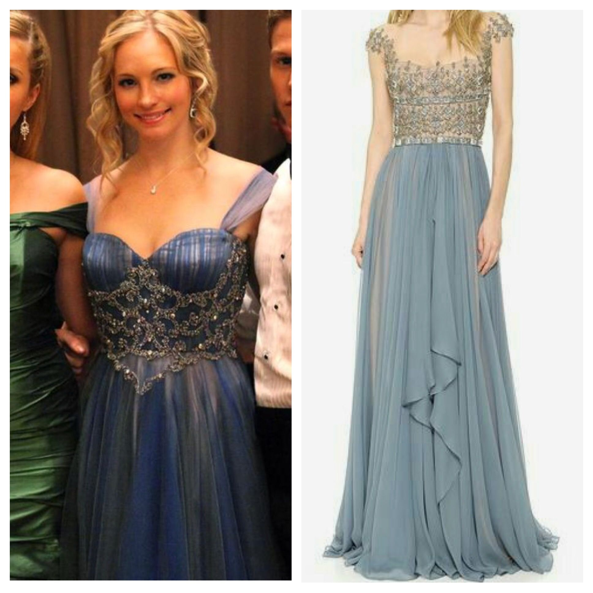 The Originals Wardrobe Design Left Caroline S Gown At The Mikaelson S Ball On Tvd 3x14 Color Variation Is Nice Bridesmaid Dresses Dresses Formal Dresses [ 1936 x 1936 Pixel ]