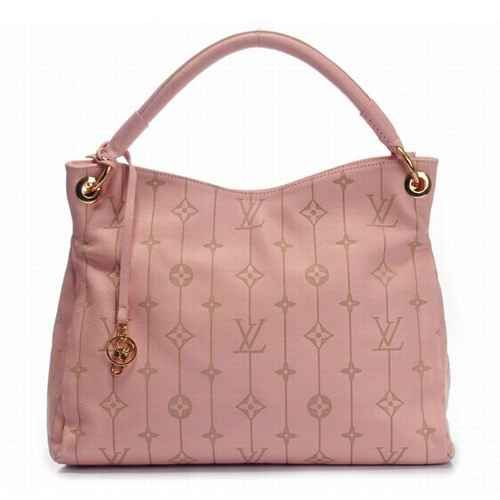 Pink Louis Vuitton bag.  Love it.