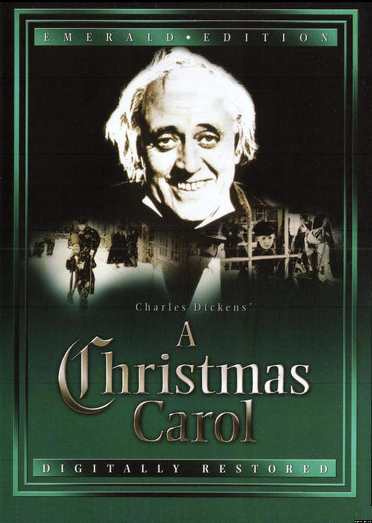 A Christmas Carol 1951 stars Alistair Sim My favorite