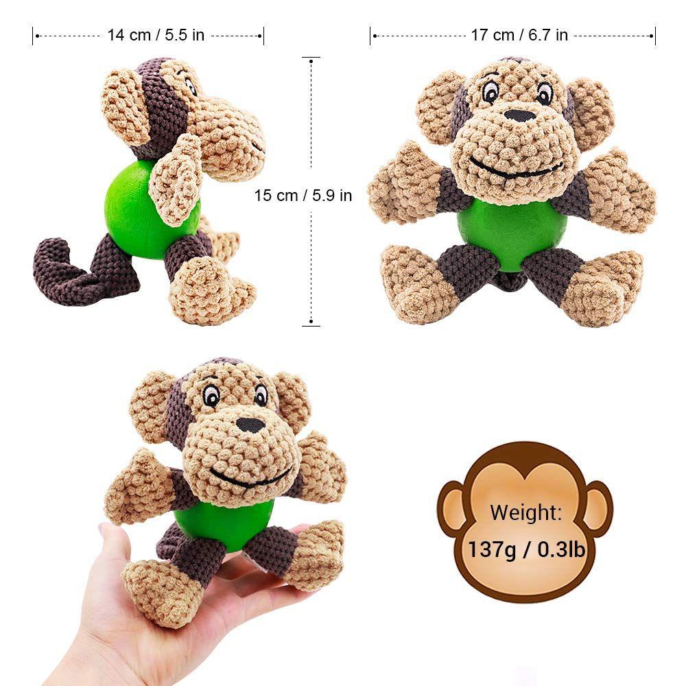 Raffaelo Dog Toy Plush Squeaking Dog Toys Dog Plush Toy Chew Toy