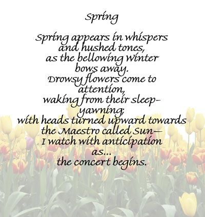Spring-Poem4.jpg (400×425) | Spring poem, Spring quotes, Poems