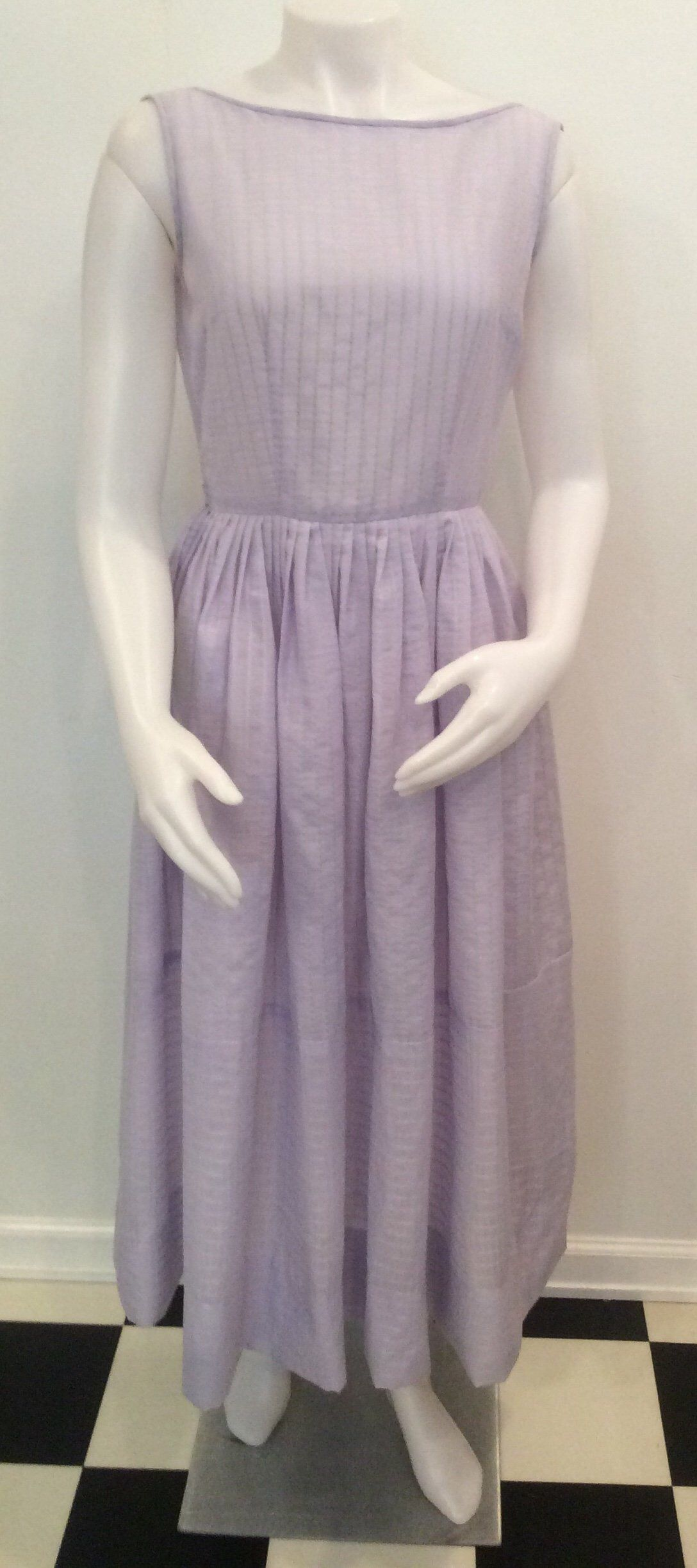 Purple Vintage Dress Full Skirt 1950s Lilac Lavender Summer Etsy Vintage Purple Dress Full Skirt Dress Dresses [ 2444 x 1088 Pixel ]