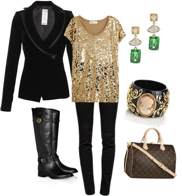 """""""New Year's Party at Home"""" by terrynoyd on Polyvore"""