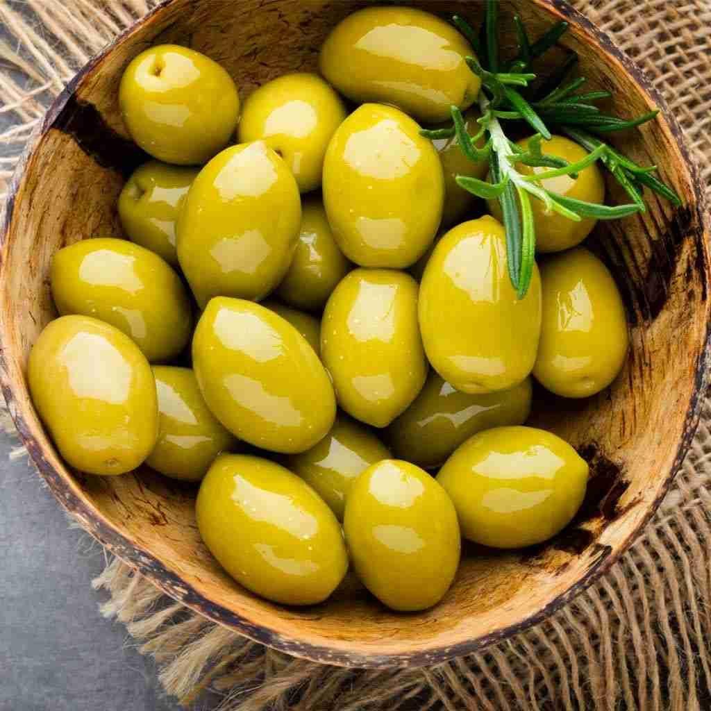 زيتون زاكي Fresh Olives Olive Bowl Main Dishes