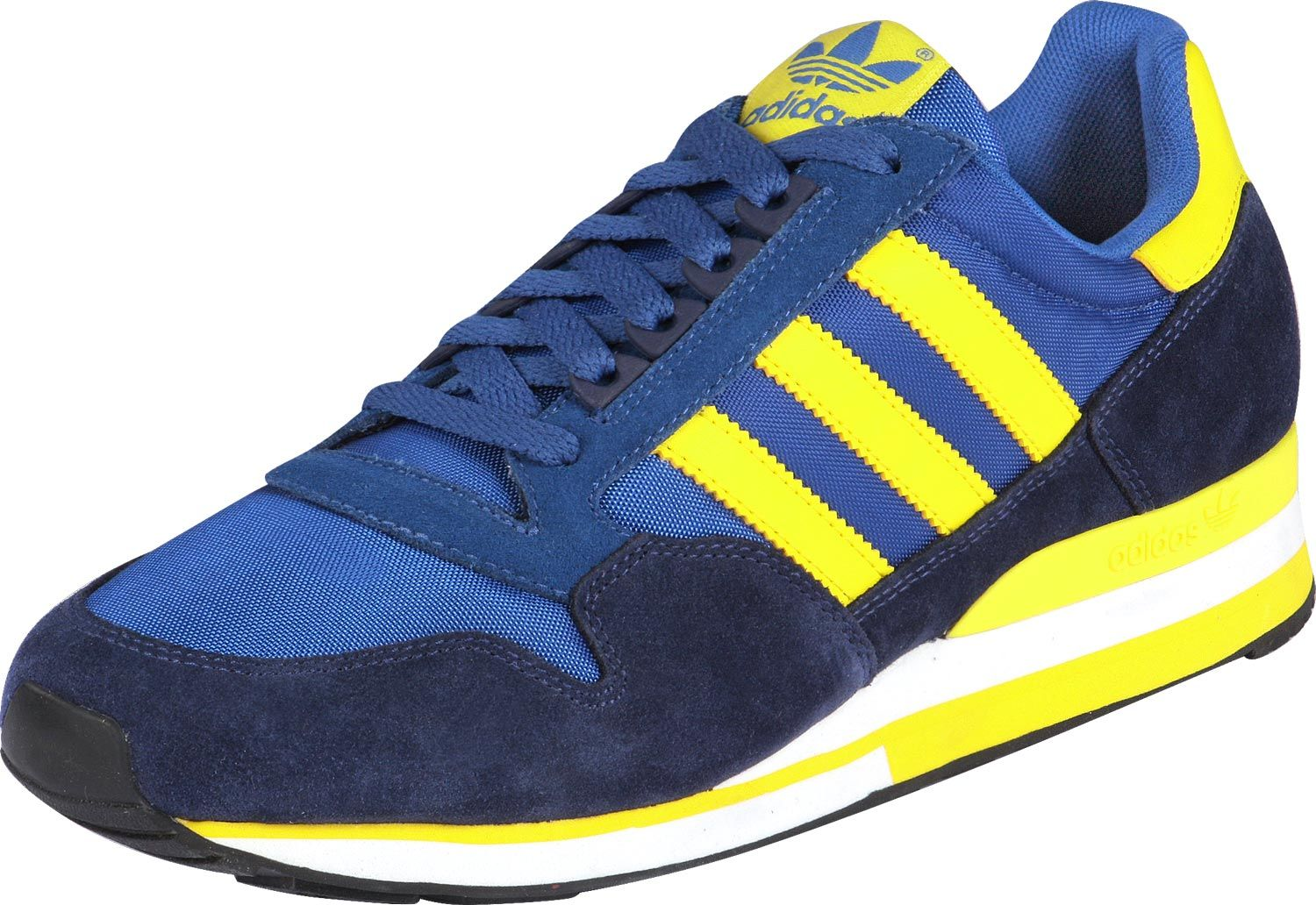 Adidas in Blue/Yellow