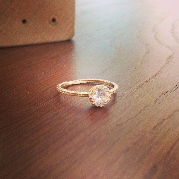 Simple Promise Rings Pinterest