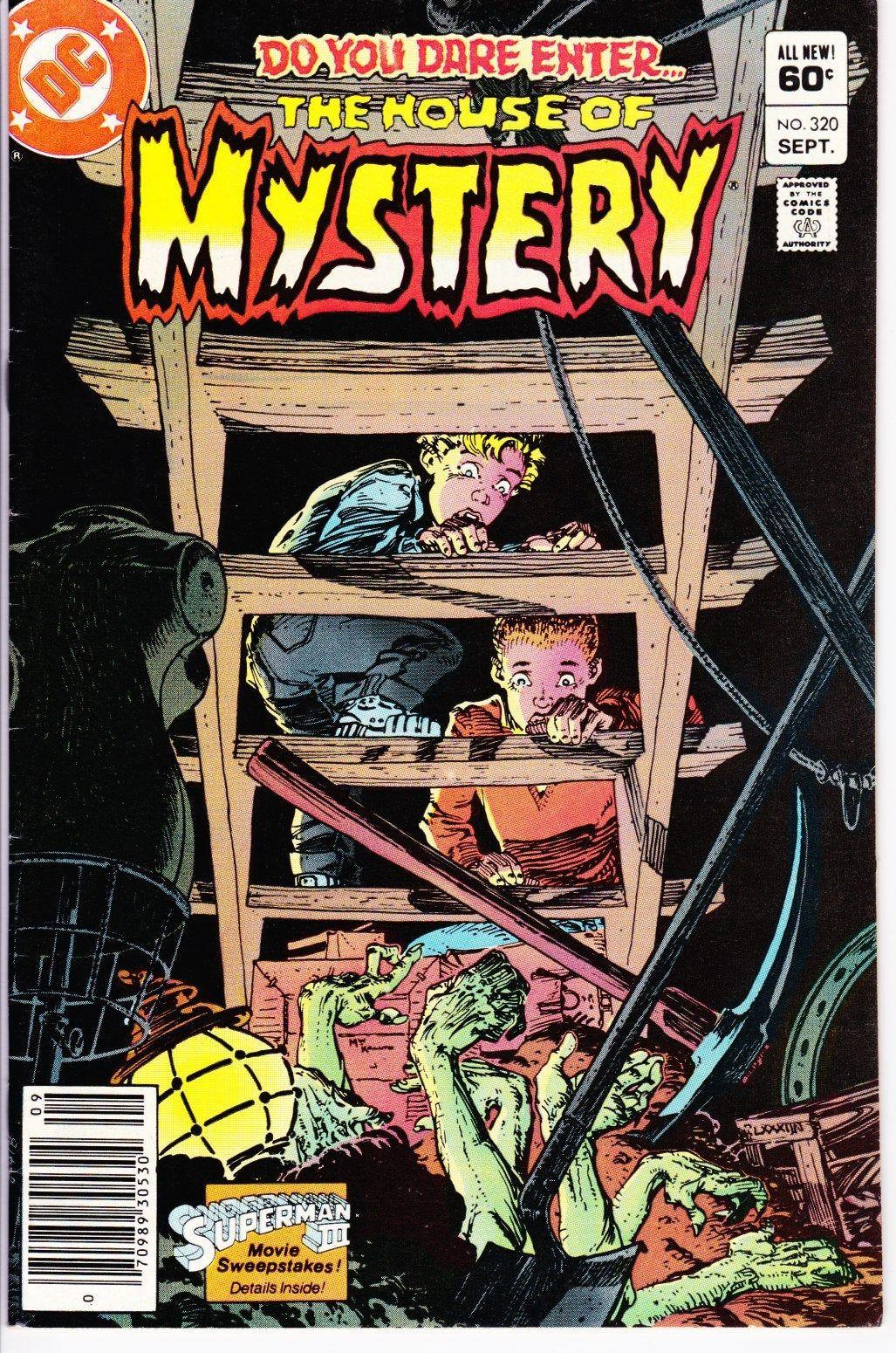 House Of Mystery #320 (1st Series 1951-1983) September