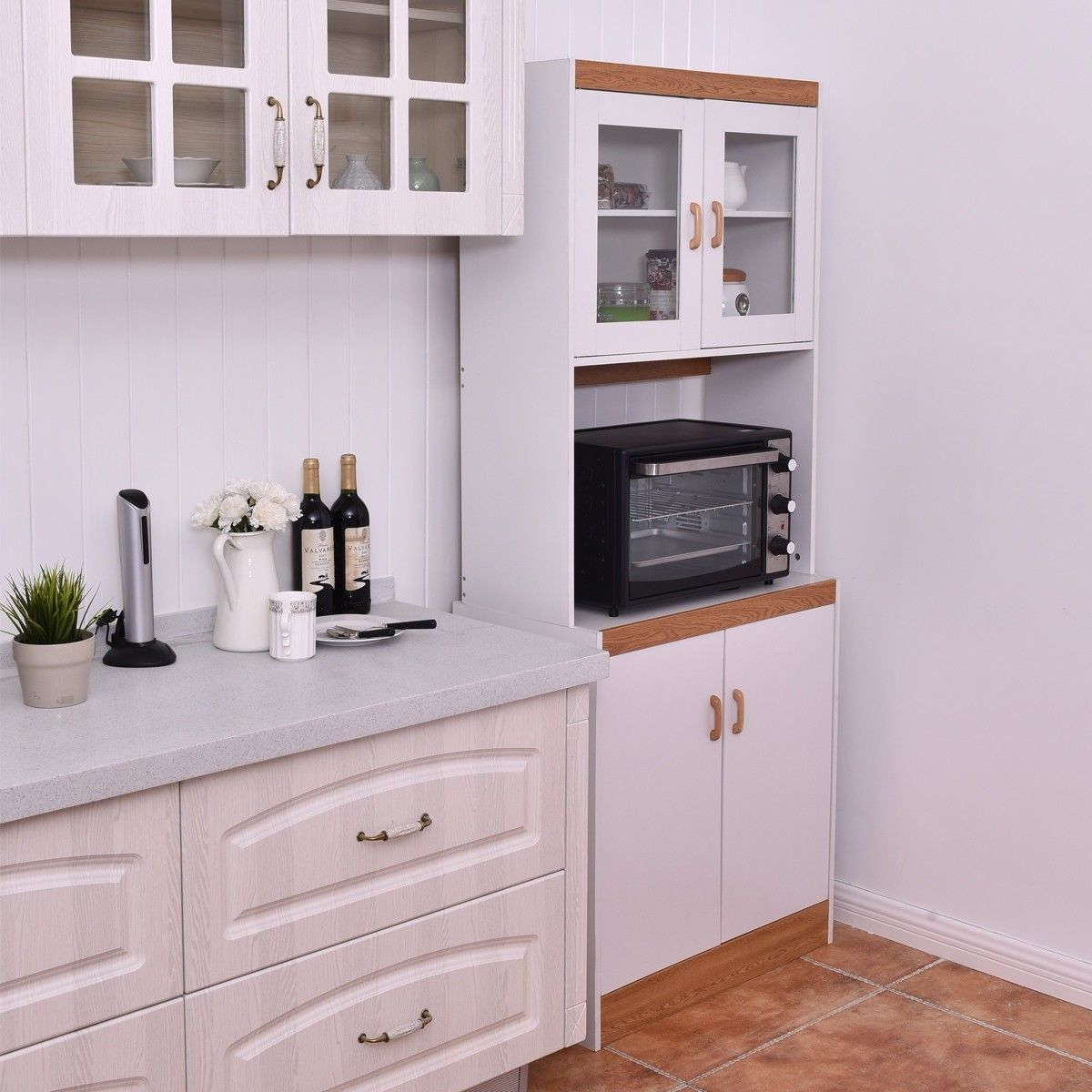tall shelves microwave cart stand kitchen storage cabinet kitchen cabinet storage kitchen on kitchen organization microwave id=98470