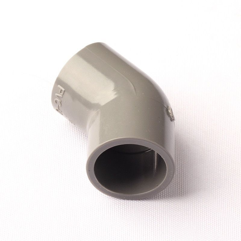 25mm 45 Degree Elbow Pipe Connectors Adapter NuoNuoWell PVC Micro  Irrigation Accessories