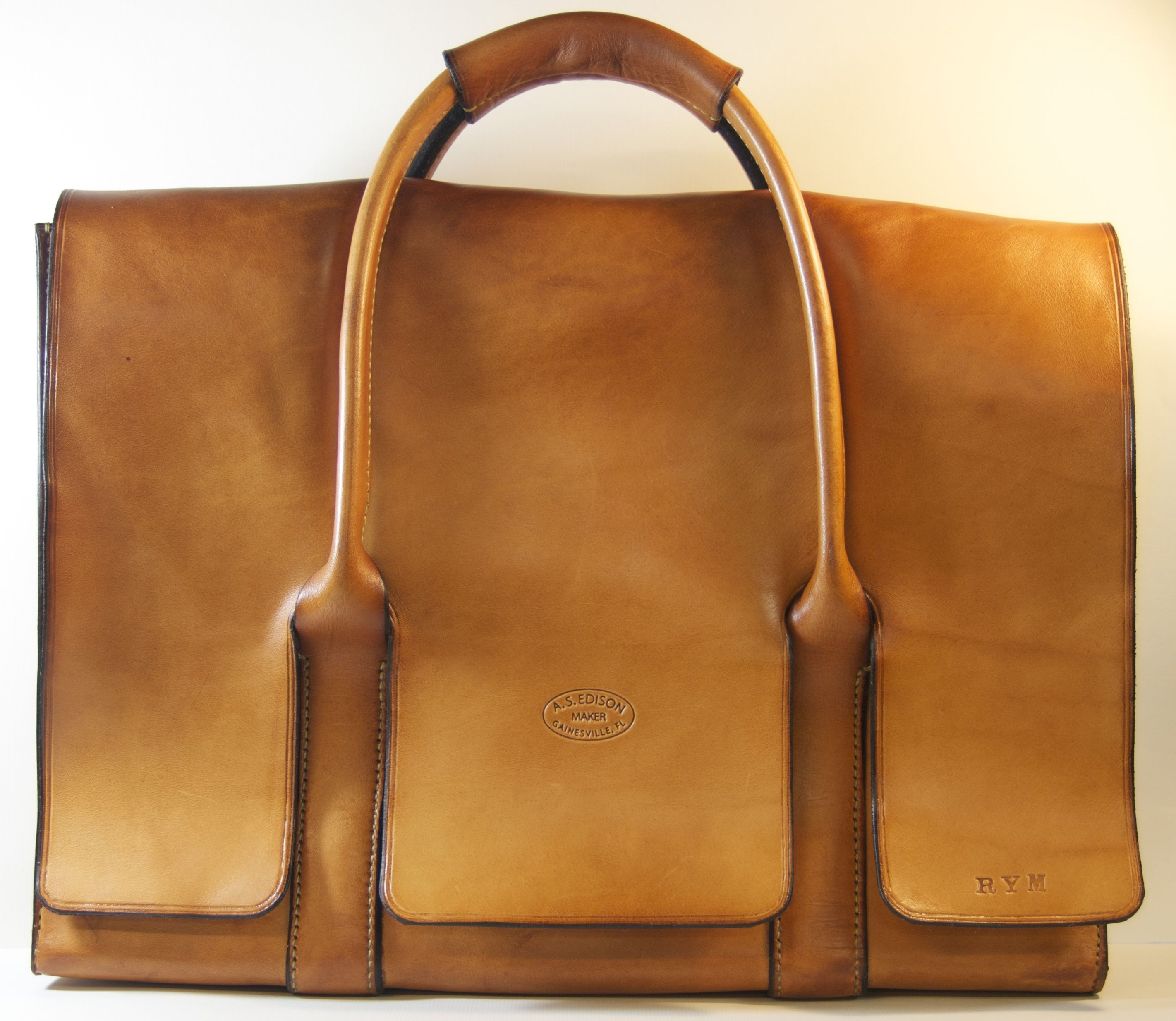 Front of laptop bag