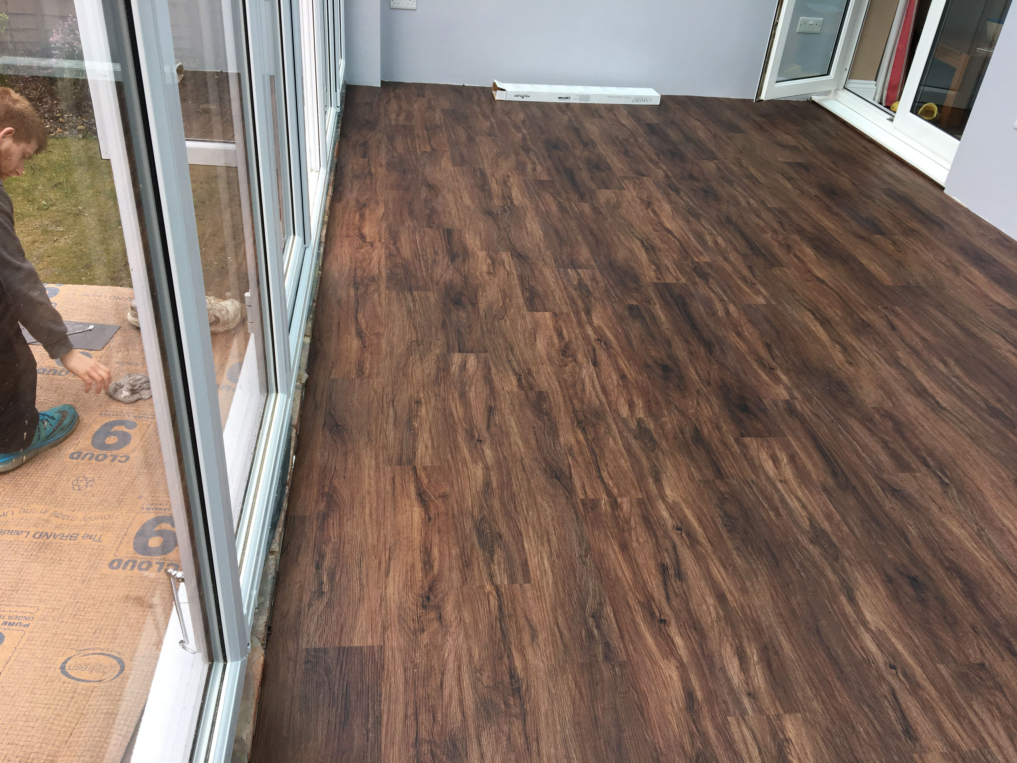 LVT, Amtico, Karndean design flooring, fitted by Ben