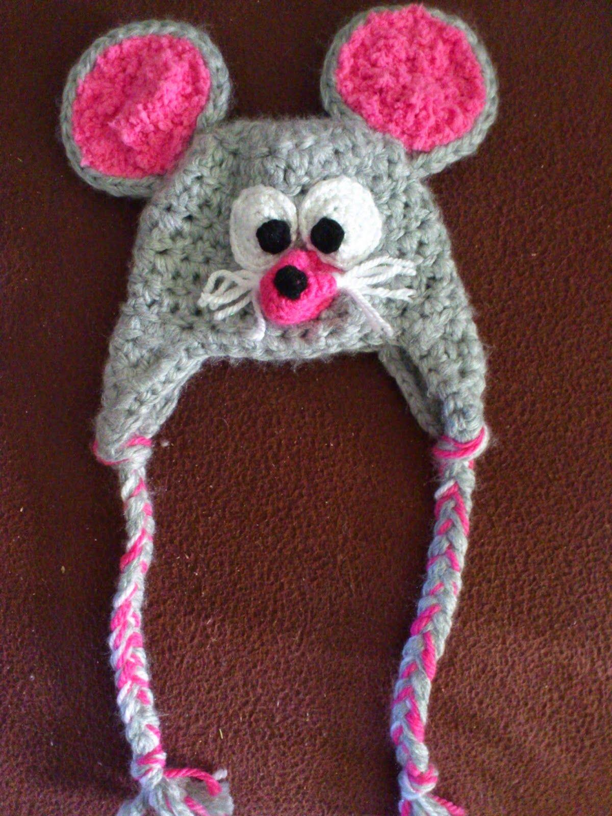 Das Wollhouse Mütze Maus Gehäkelt Das Wollhouse Pinterest