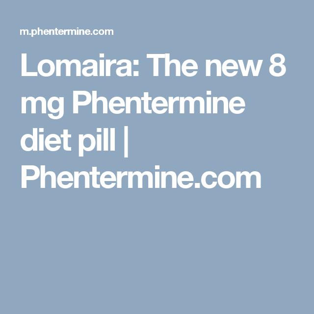 Lomaira: 8 mg Phentermine Tablet [Updated   Diet pills ...
