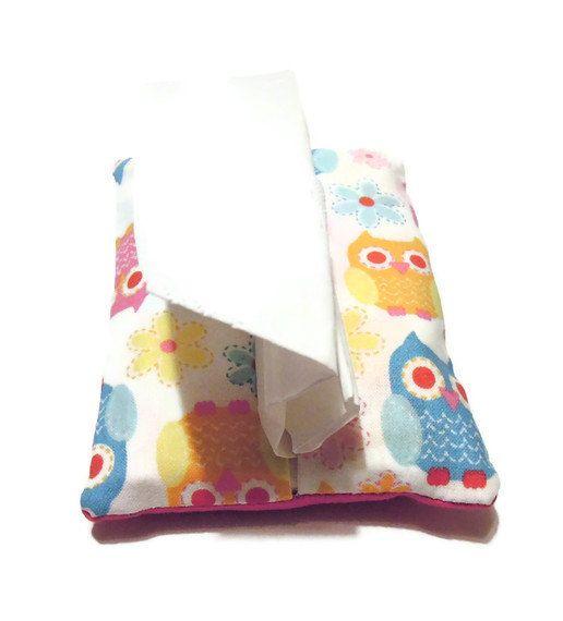 Owl Kleenex cozy by meggiebabe on Etsy, $3.75