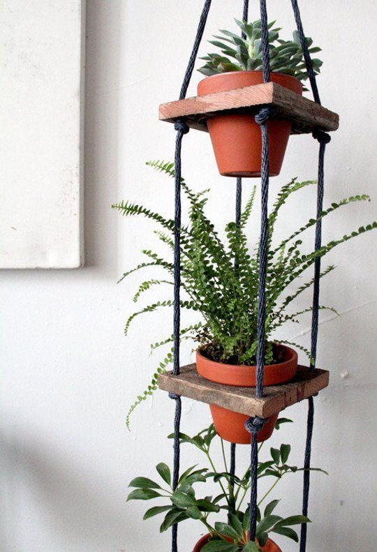 Jumpstart Spring: 10 DIY Planter Projects | Balkon, Pflanzen und ...
