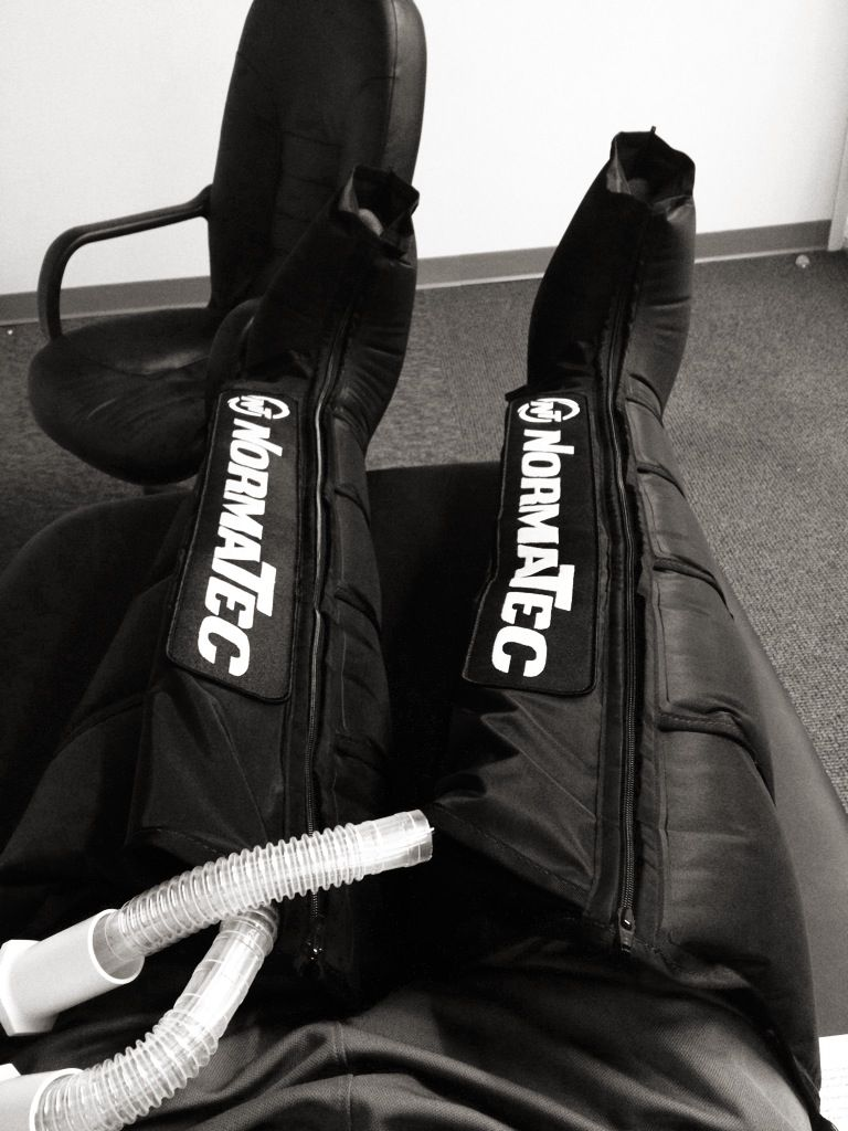 Normatec Recovery Boots Are Excellent For Post Runs Or Triathlon