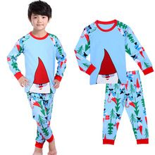 b54521c955 2Pcs Kids Boys Girls Santa Claus Christmas Pjs Suit Outfit Set Children Kid  Xmas Nightwear Pajamas Sleepwear Tracksuit Clothes(China (Mainland))