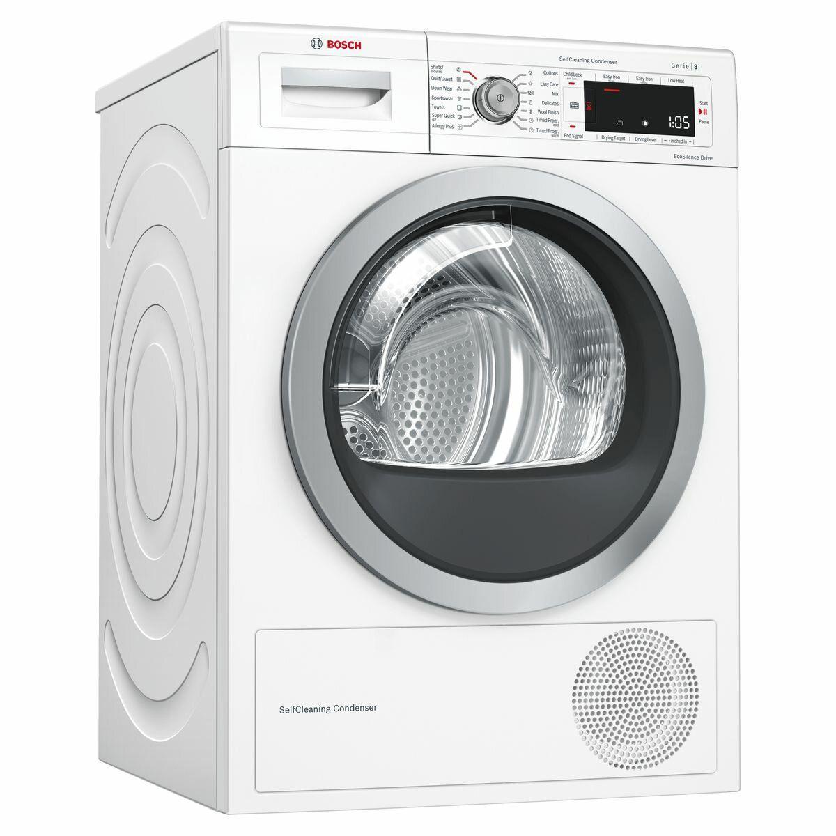 Bosch 9kg Serie 8 Heat Pump Dryer WTW87566AU | Winning Appliances | Bếp, Máy  rửa chén, Máy giặt