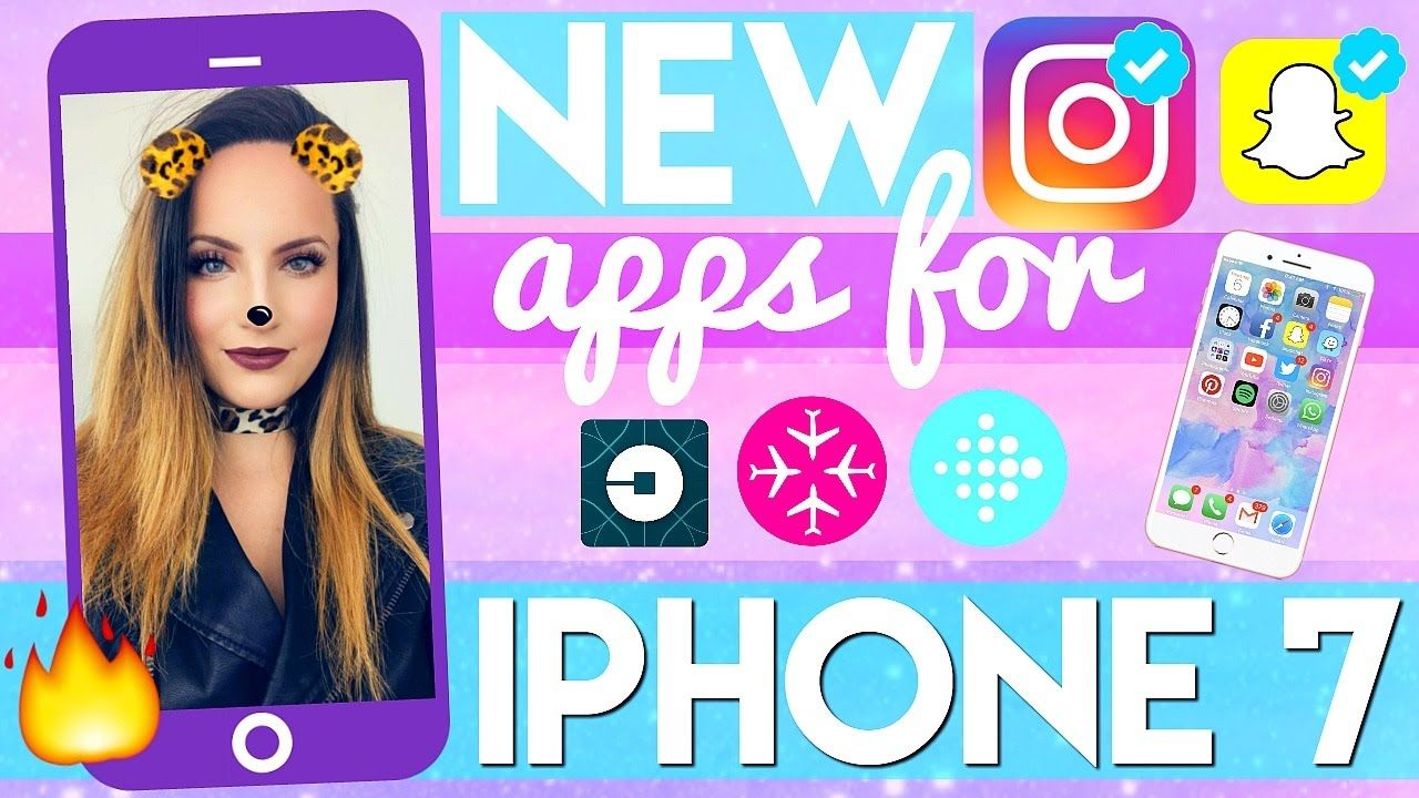 WHAT'S ON MY IPHONE 7 + INSTAGRAM EDITING HACKS! https