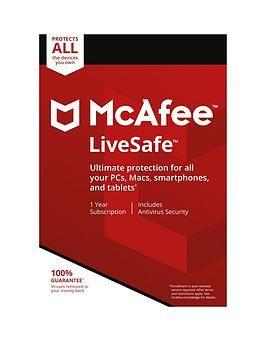 Livesafe 2018 Firewall Security Mcafee Cloud Storage