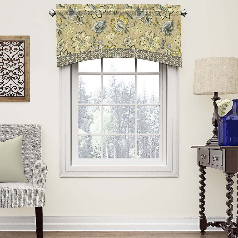 Cuisine Schmidt Valence Waverly Brighton Blossom Arched Window Valance In 2019 Products