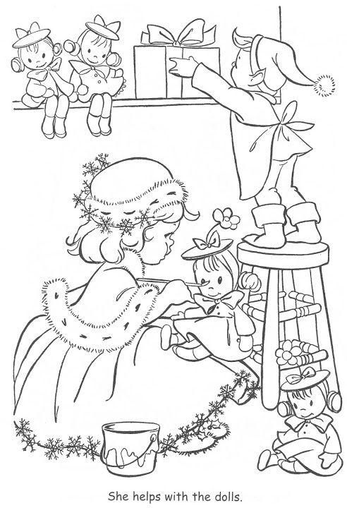 Picasa Web Albums Bonnie Jones Coloring Book Christmas Coloring Pages Christmas Coloring Books Coloring Books
